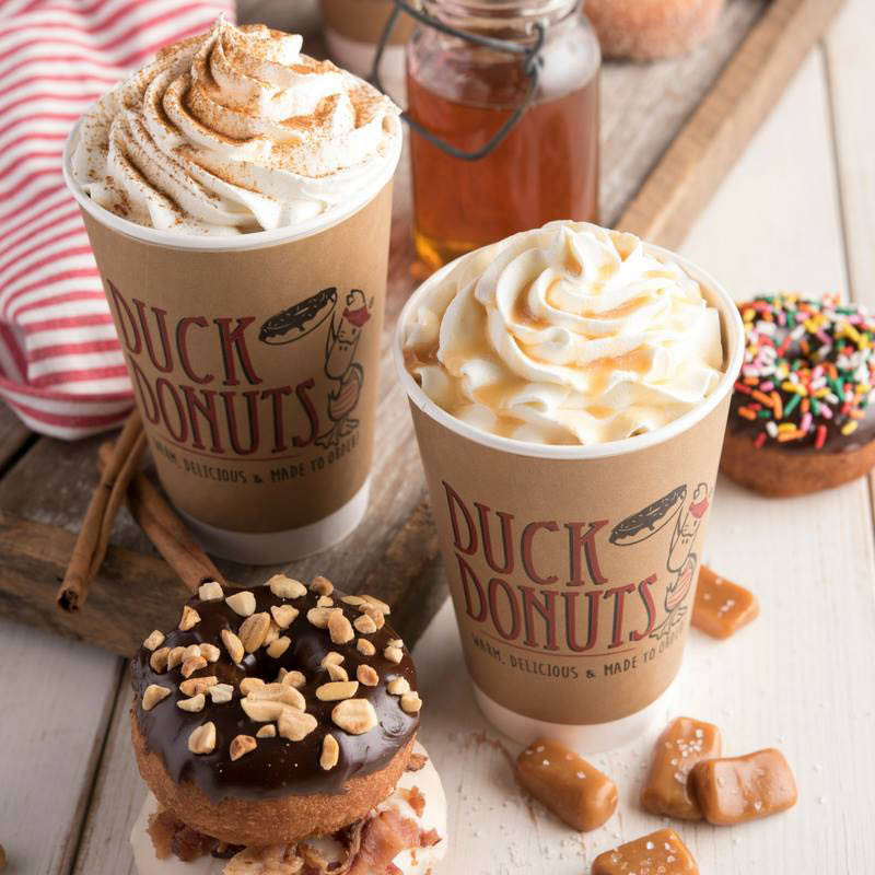 Donut sundaes pair well with any Duck Donut