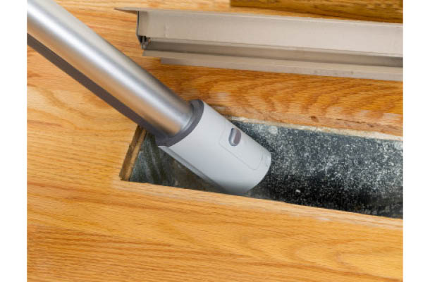 Air circulating through the duct system can carry spores from house mold or black mold, as well as, bacteria
