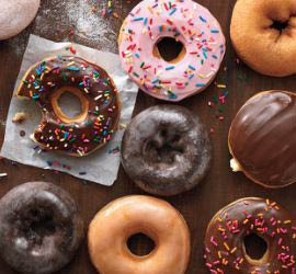 Can't stop at 1, pick up a dozen donuts today!