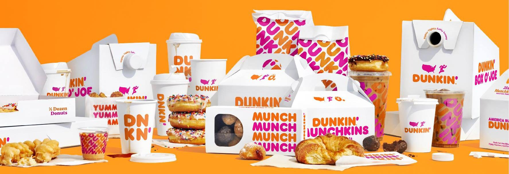 dunkin donuts  findlay coffee drive thru lattes donuts