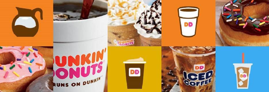 Dunkin' Donuts in Dallas, TX Banner ad