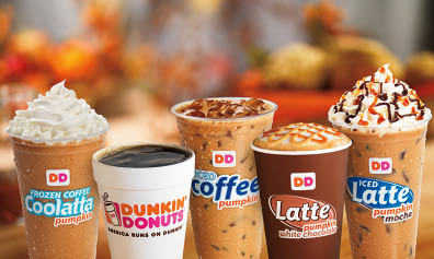 Hot coffee, frozen and cold coffee drinks