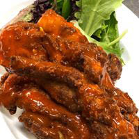 Chicken wings - sassy or saucy - you decide