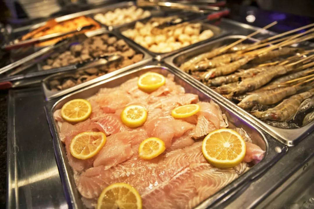 Fresh fish and seafood - choose your own