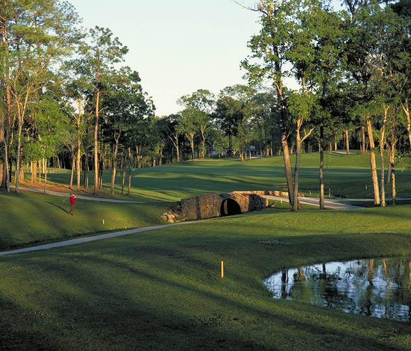 large green golf course in SC