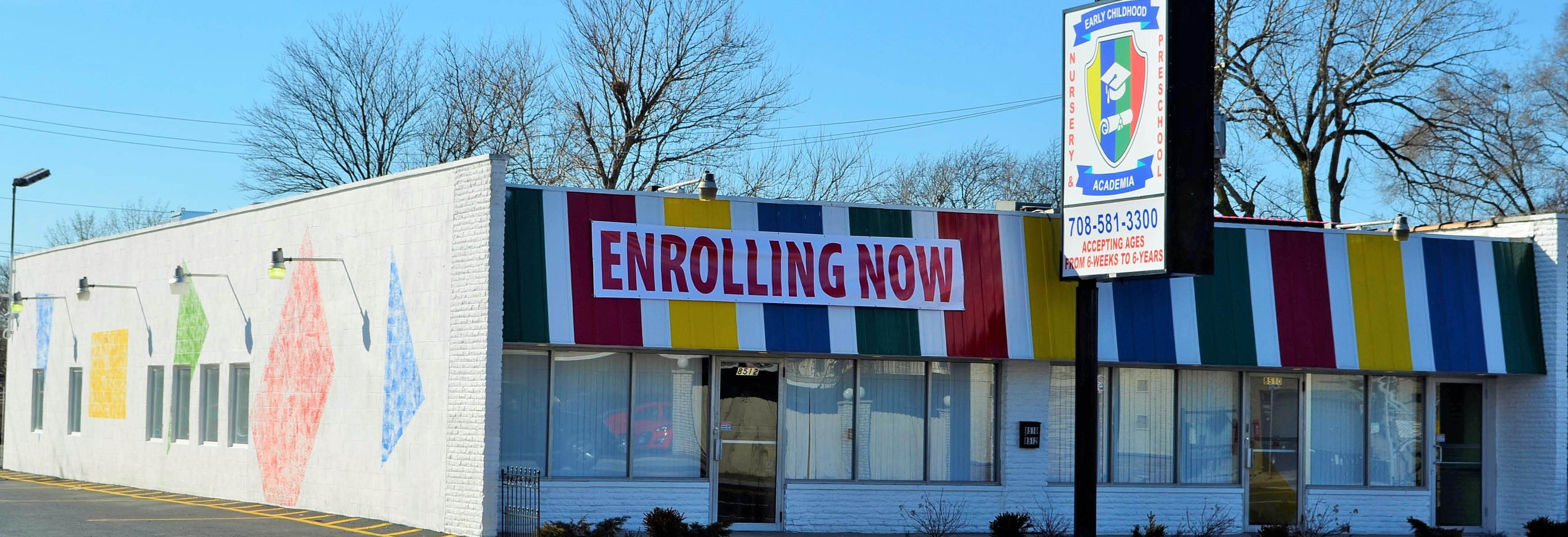 Visit our campus in Burbank, IL Early Childhood Academia.