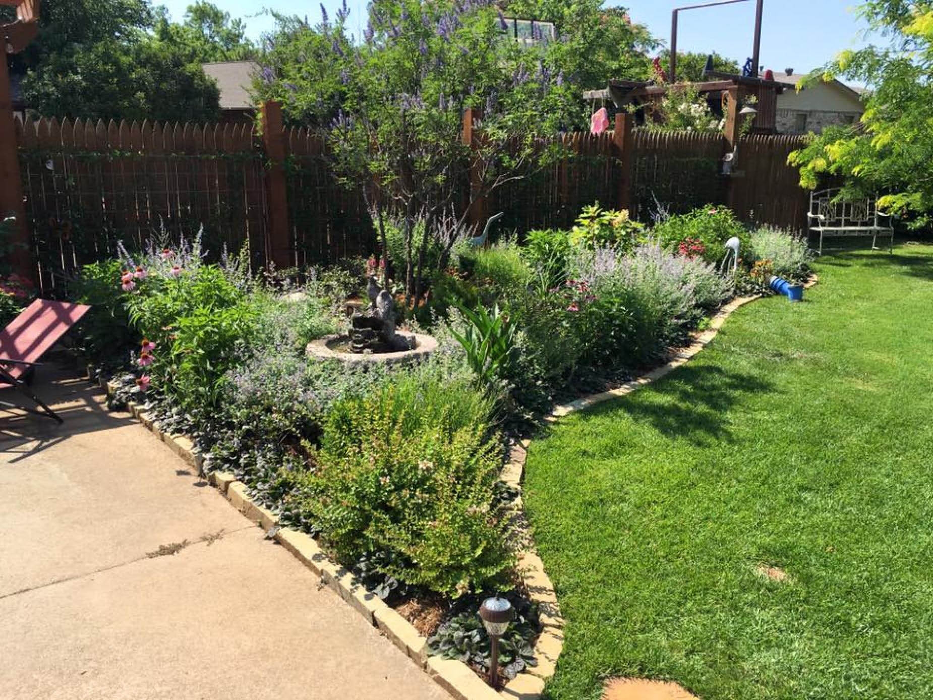 All types of landscaping, plant care, irrigation systems near Mustang, OK