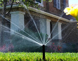 Irrigation and sprinkler system installation close to Del City, Oklahoma