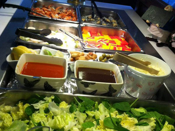 Eastern Bay Chinese Restaurant buffet