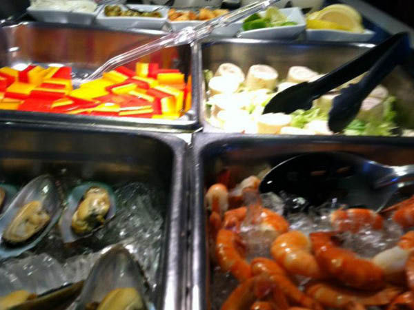 Eastern Bay Chinese Restaurant seafood buffet