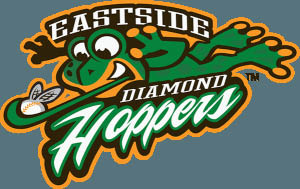 Eastside Diamond Hoppers professional baseball team logo