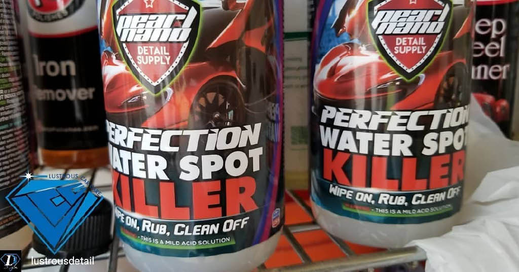 Only the finest car care products are used for auto detailing
