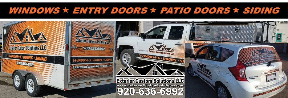 Exterior Custom Solutions in Neenah, WI banner