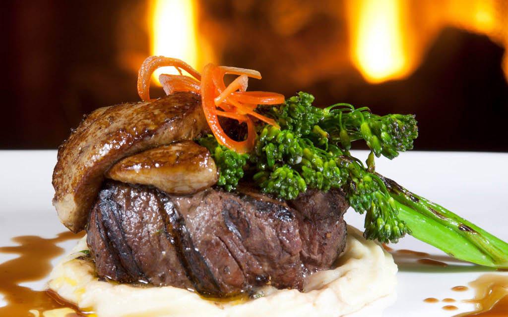 Edgewater Supper Club Steak on Pewaukee lake