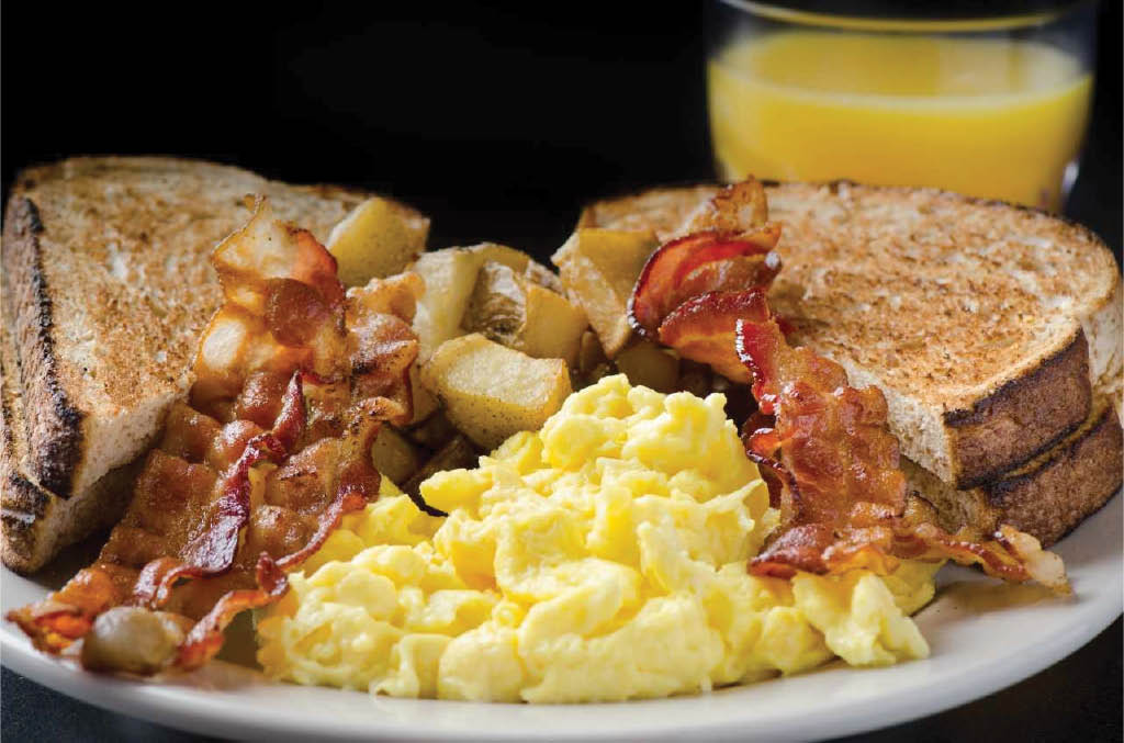 Hearty breakfasts at Silver Spring Diner in Mechanicsburg, PA