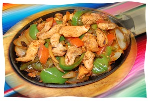 Fajitas and other Mexican food near Harrisburg