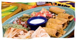 Mix and match your Mexican food with a platter from El Rodeo.
