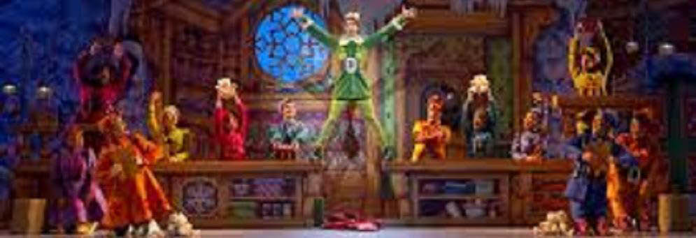 Elf the Musical at the Fox Theatre banner