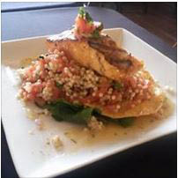 Seafood dishes prepared fresh daily from local ingredients