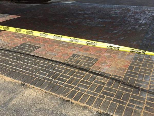 Elite Contracting Group custom pavement