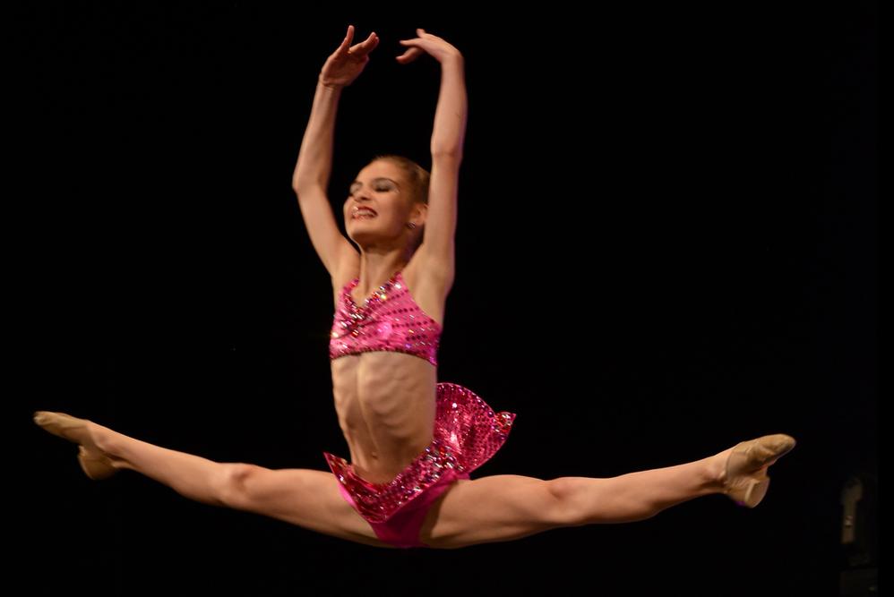 girl dancer; Calvert School of Dance located in calvert county, maryland