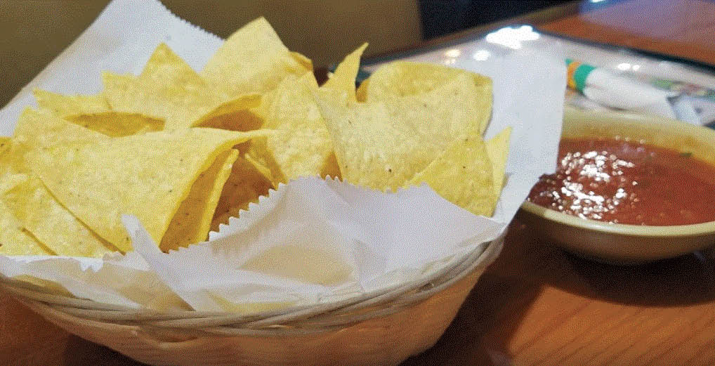 Fresh Chips and Salsa at El Patio Restaurant in Troy, MI