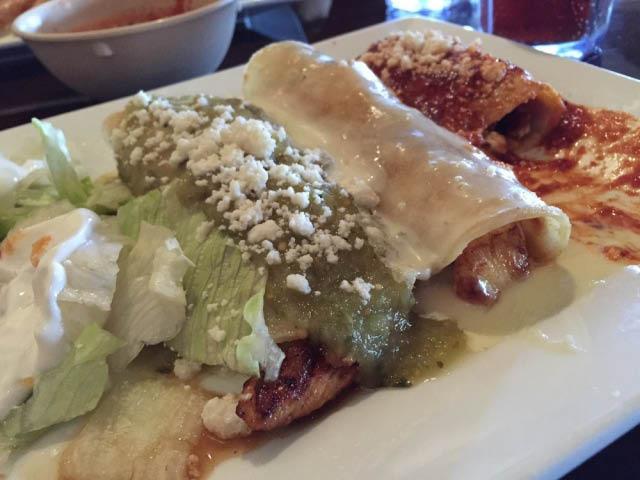 el rancho grande mexican grill enchiladas