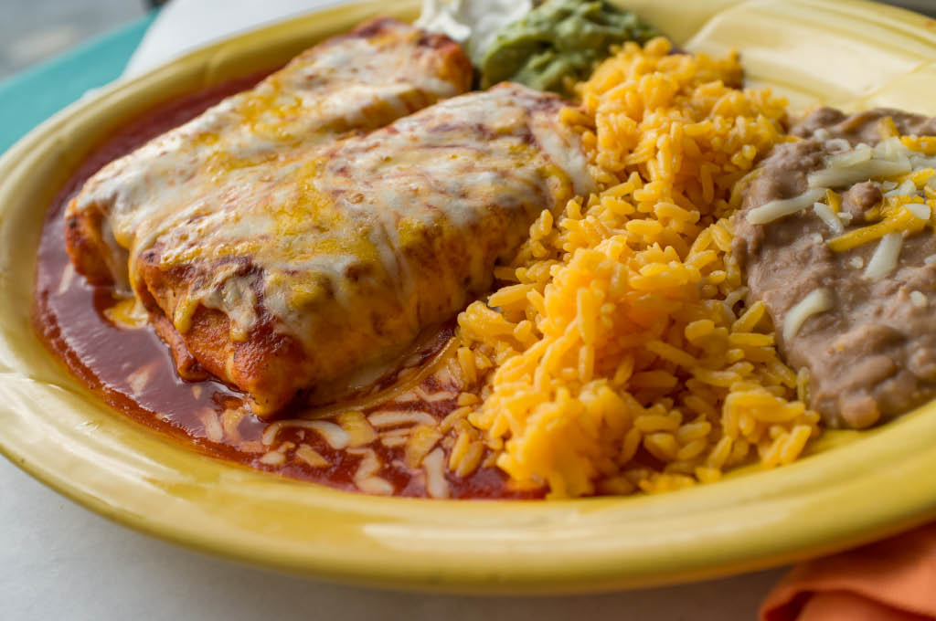 el toro mexican bar and grill chimichanga plate dayton ohio