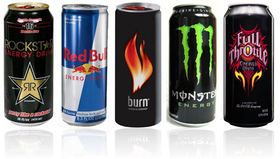 Energy drinks near Belmont Shore