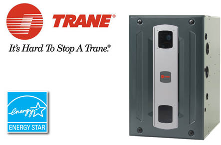 Trane furnace photo now installed by All Services.
