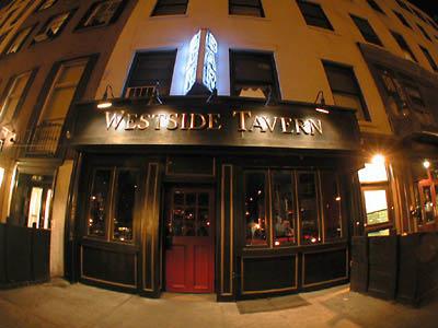 Westside Tavern exterior entrance