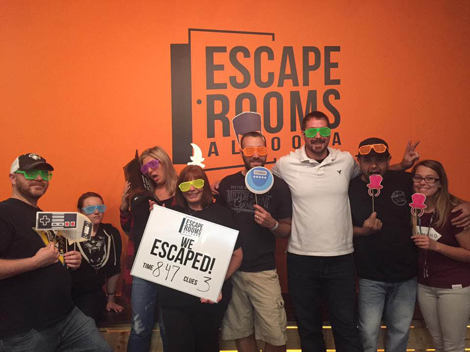 This group of 8 escaped but they've never been the same since