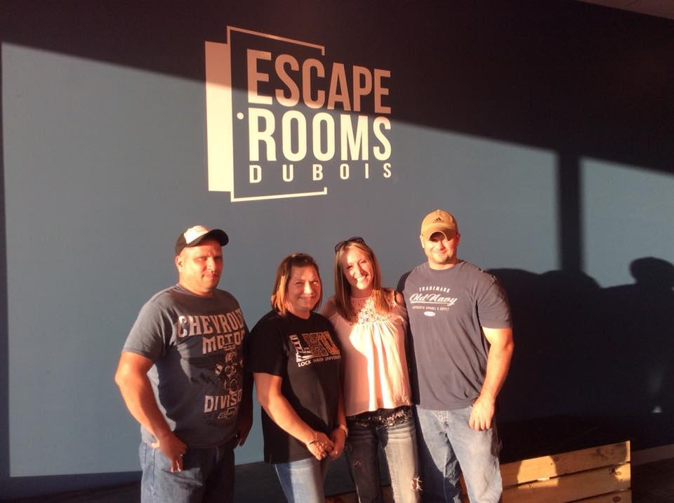 Escape Room owners; DuBois, PA escape rooms