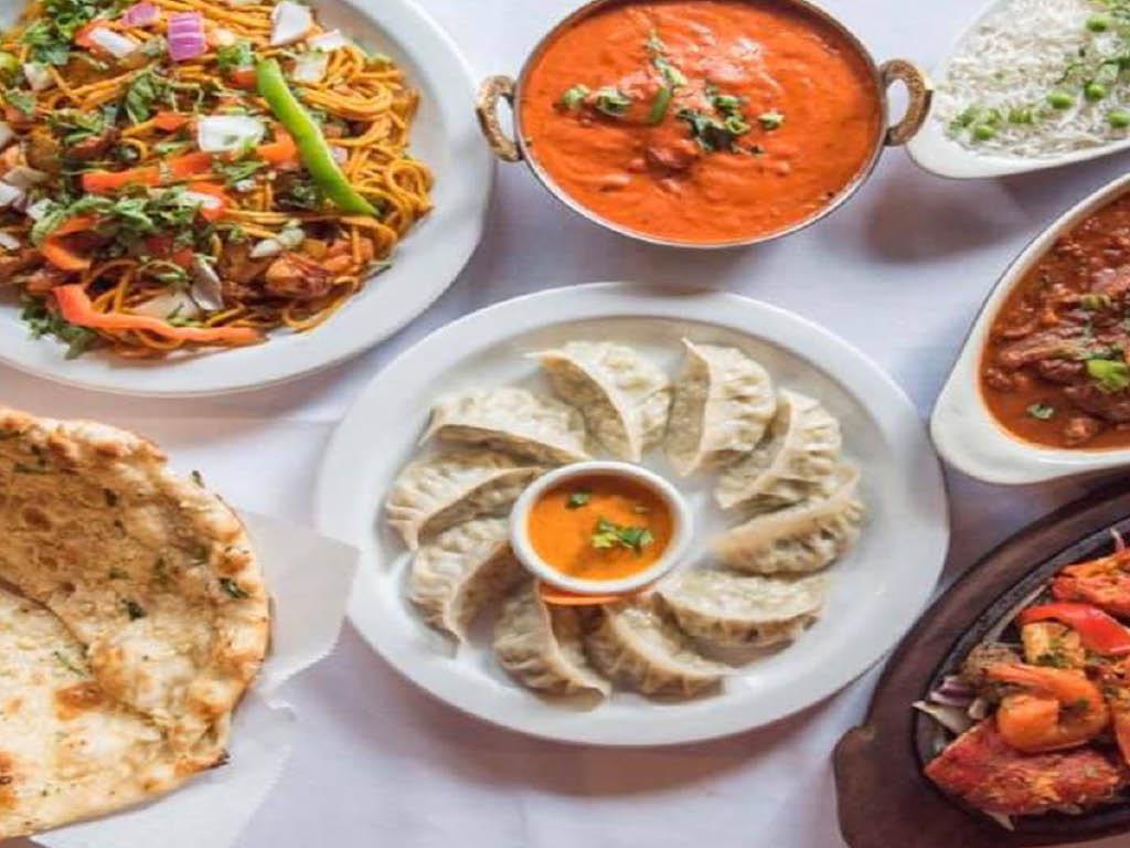 Everest Cuisine appetizers