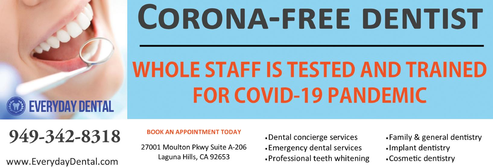 everyday dental laguna hills ca logo dentist coupons near me