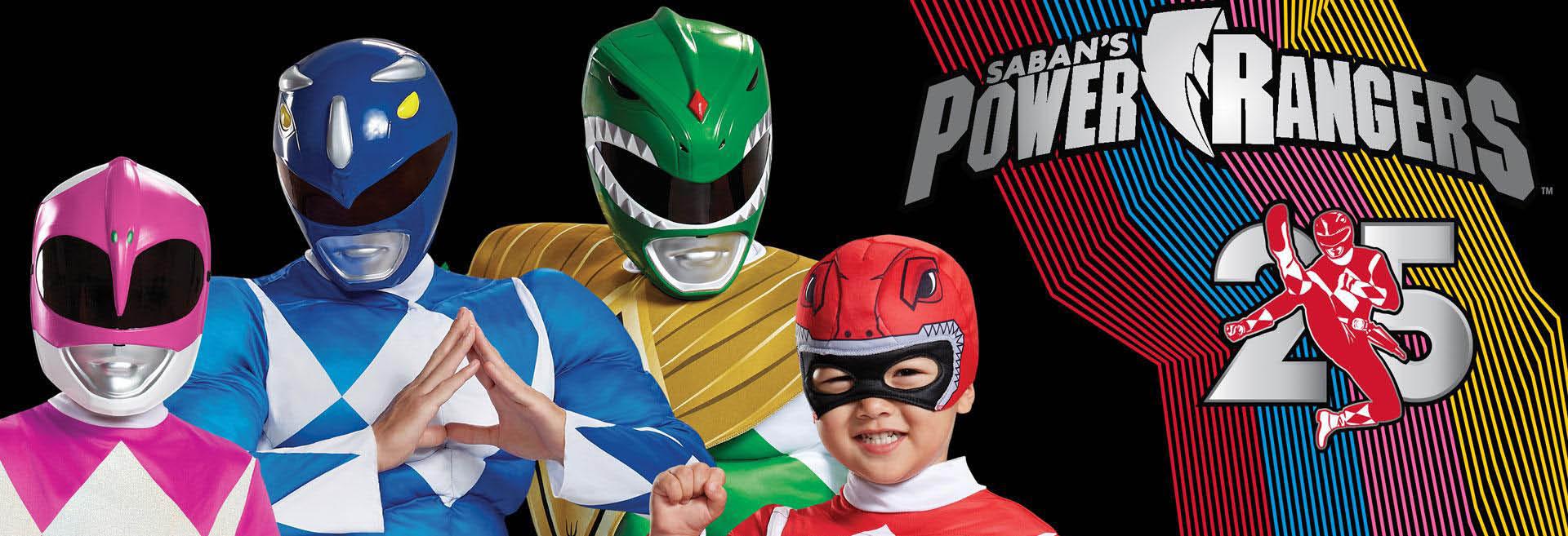 ezcostumes.com banner power rangers halloween costumes