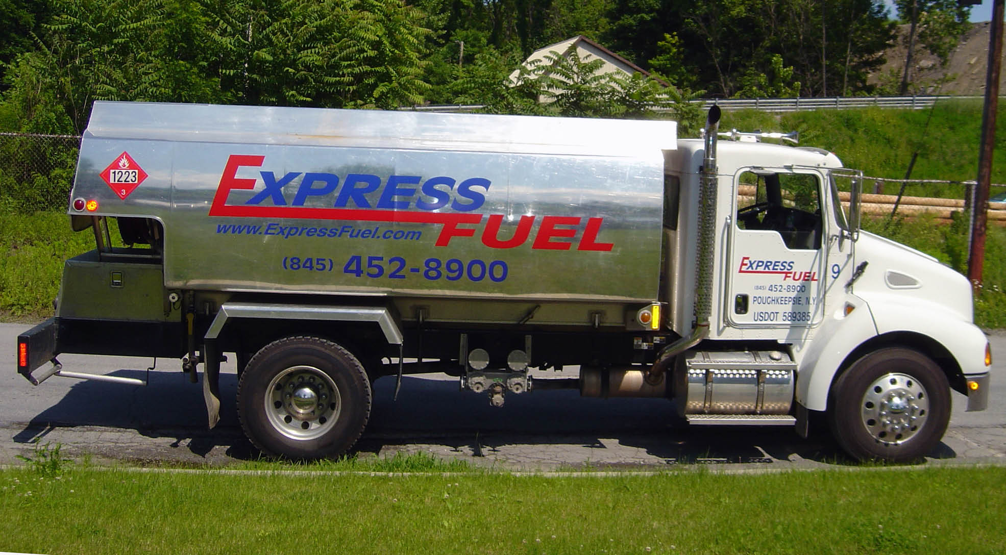 Express Fuel has top-of-the-line transportation for their heating oil.