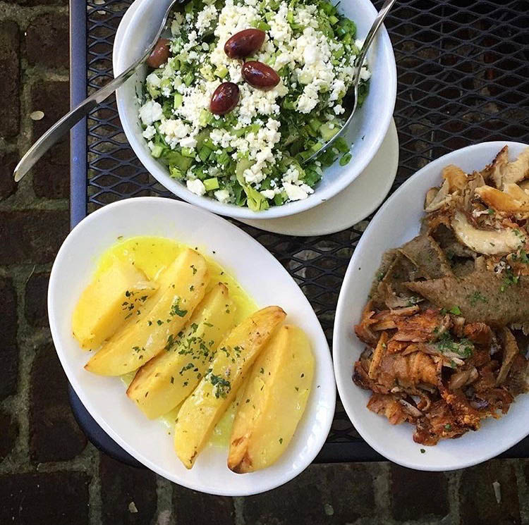 greek,feta,yogurt,tzatziki,rustic,gyro,hummus,pita,feta,dip,spread,soulvaki,soup,salad,brooklyn,bay ridge,cozy,decor,restaraunt,inside,warm,somethingreek,spinach,kalamata,olives,grape leaves,horiatiki,herbs,loukaniko,santorini,chicken,pork,bifteki