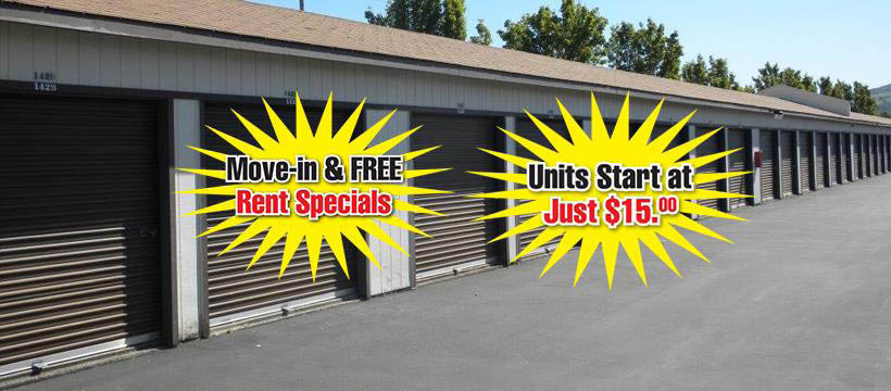 Storage facilities, public storage Sonoma County, CA