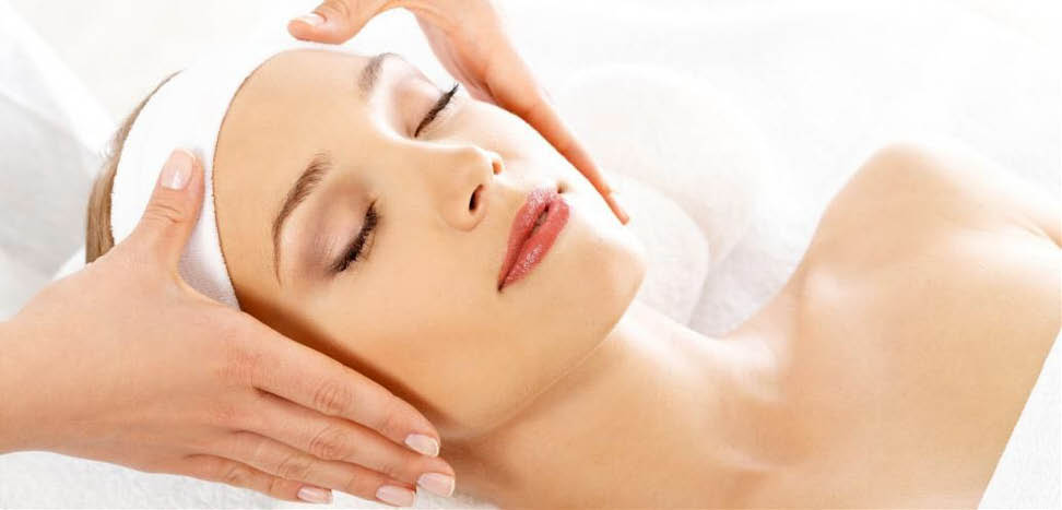 Relaxing facial treatment near Mechanicsburg