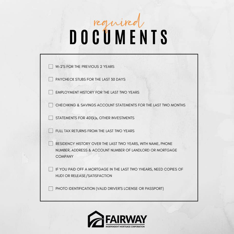 Documents requested by FIMC