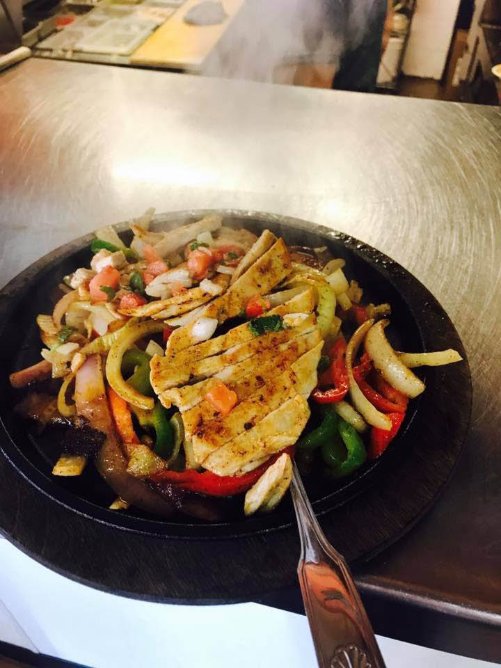 Your choice of meat for sizzlin' fajitas!
