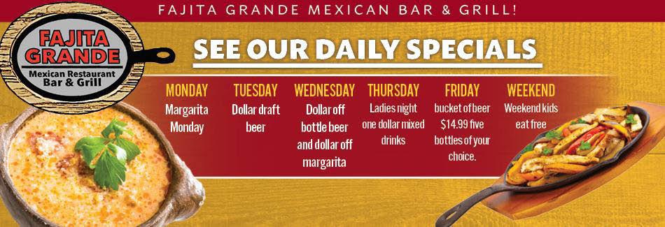 Fajita Grande, Mexican, Food, Cuisine, Tacos, Burritos, Enchiladas, Beer, Margarita