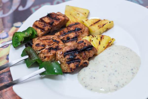 Salmon Kabobs - A Mediterranean Treat