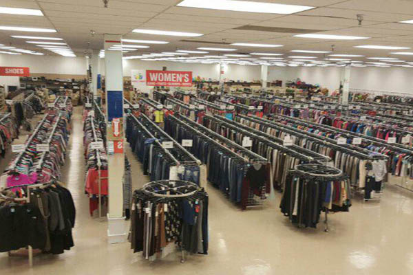 Family Thrift large selection of mens and womens clothing
