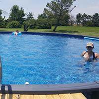 Backyard above ground swimming pools in Oklahoma City, OK
