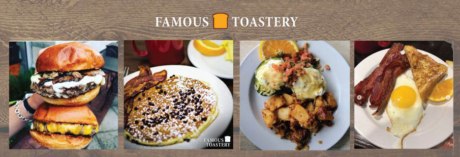 Breakfast, Lunch or Brunch. Famous Toastery Matthews, Catering, American Restaurant