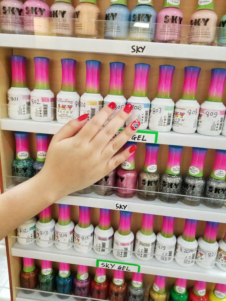 Professional S.K.Y. brand nail polish