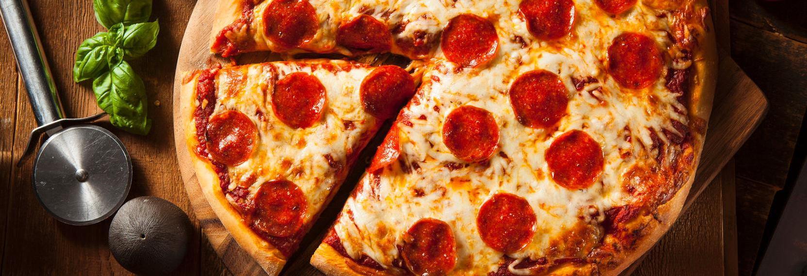 Fast Pizza in San Leandro, California banner ad