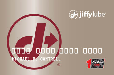 open a jiffy lube credit card in california